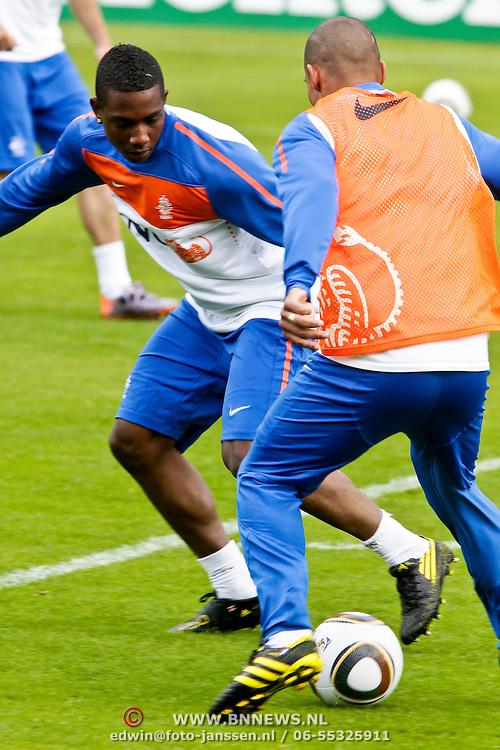 AUS/Seefeld/20100529 - Training NL Elftal WK 2010, Eljero Elia