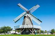 Windmill in the Steinbach Mennonite Model village, Manitoba, Canada