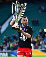 Joie Toulon - Matt GITEAU - 02.05.2015 - Clermont / Toulon - Finale European Champions Cup -Twickenham<br />Photo : Dave Winter / Icon Sport