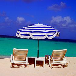 Chair Umbrella Beach of Anguilla, British West Indies Caribbean Beach Stock imagery, Anguilla British West Indies