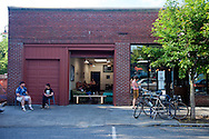 Stumptown Coffee's original location located on Southeast Division Street in Portland, Oregon