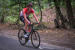 July 28, 2018 - Les Bons Villers, BELGIUM - Belgian Enzo Wouters of Lotto Soudal pictured during the first stage of the Tour De Wallonie cycling race, 193,4 km from La Louviere to Les Bons Villers, on Saturday 28 July 2018. BELGA PHOTO LUC CLAESSEN (Credit Image: © Luc Claessen/Belga via ZUMA Press)