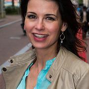 NLD/Amsterdam/20130613 - Inloop feestje Ferry Doedens, Caroline de Bruin