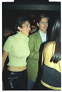 Ghislaine Maxwell,  Plum and Lucy Sykes birthday. Manhattan. 1999