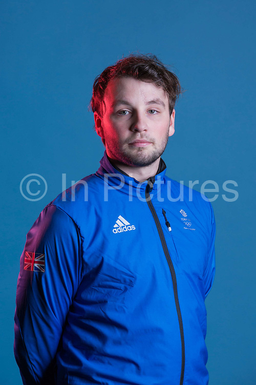 Rowan Coultas during GB Park & Pipe Winter Olympic official Adidas kitting out day on 24th January 2018 in Stockport, United Kingdom.