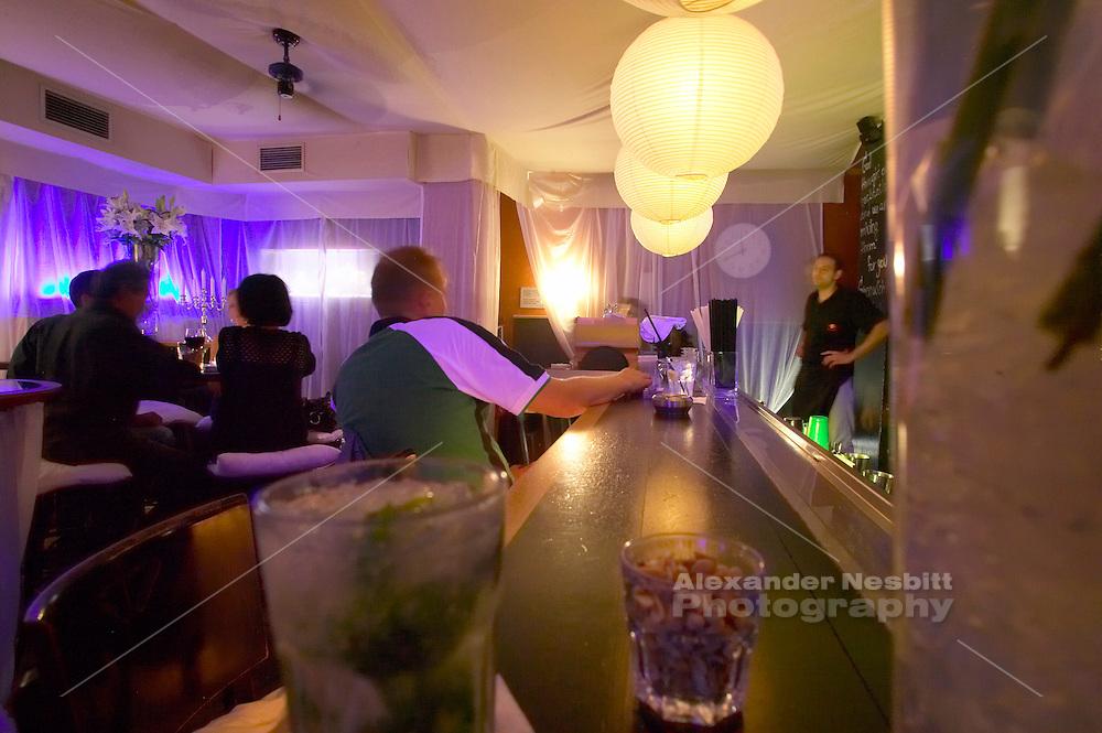 Europe, Slovakia, capitol city - Bratislava, bar/night club
