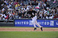 CHICAGO - APRIL 17:  Omar Vizquel #11 of the Chicago White Sox runs the bases against the Los Angeles Angels of Anaheim on April 17, 2011 at U.S. Cellular Field in Chicago, Illinois.  The Angels defeated the White Sox 4-2.  (Photo by Ron Vesely)  Subject:  Omar Vizquel