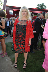 JO WOOD at the annual Serpentine Gallery Summer party this year sponsored by Jaguar held at the Serpentine Gallery, Kensington Gardens, London on 8th July 2010.  2010 marks the 40th anniversary of the Serpentine Gallery and the 10th Pavilion.