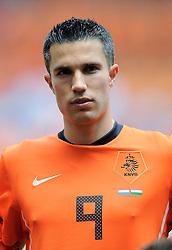05-06-2010 VOETBAL: NEDERLAND - HONGARIJE: AMSTERDAM<br /> Nederland wint met 6-1 van Hongarije / Robin van Persie<br /> ©2010-WWW.FOTOHOOGENDOORN.NL