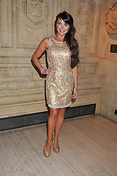 LIZZIE CUNDY at Cirque du Soleil's VIP night of Kooza held at the Royal Albert Hall, London on 8th January 2013.