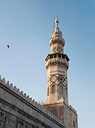 Minaret of the Umayyad Mosque, the Great Mosque of Damascus, Damascus Syria