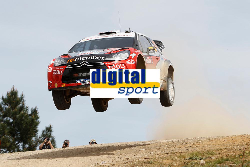 MOTORSPORT - WRC 2011 - RALLYE ITALIA SARDEGNA - OLBIA (ITA) - 05/05 TO 08/05/2011 - PHOTO : FRANCOIS BAUDIN / DPPI 11 PETTER SOLBERG (NOR) / CHRIS PATTERSON (GBR) - CITROËN DS3 WRC - PETTER SOLBERG WRT - ACTION
