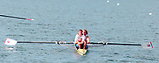 Tampere Kaukajaervi,  FINLAND.   Women's Lightweight  Pair.  GBRLW2- Alison BROWNLESS , Jane HALL.  Awards Dock. 1995 World Rowing Championships - Lake Tampere, 08.1995<br /> <br /> [Mandatory Credit; Peter Spurrier/Intersport-images] Re-Edited and file ref No. updated, 16th January 2021.