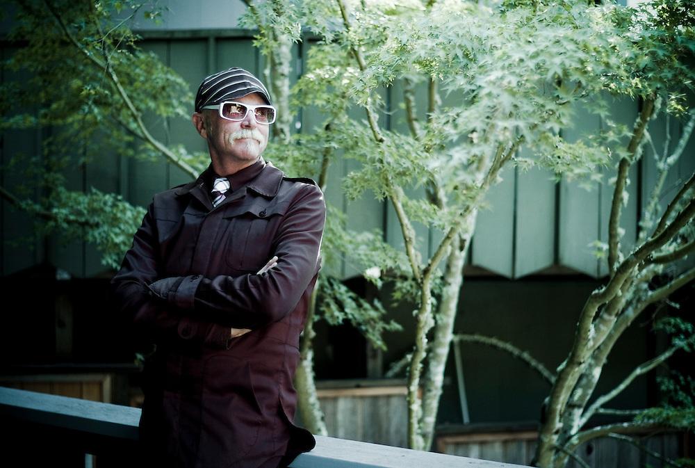 Gary Fisher, co-father of the mountain bike, Marin, California.