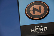 Sign for coffee chain Caffe Nero.