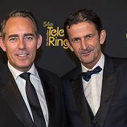 NLD/Amsterdam/20191009 - Uitreiking Gouden Televizier Ring Gala 2019, Cornald Maas en Partner Martijn