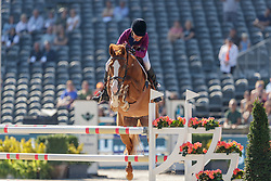 DINIZ Luciana (POR), FIT FOR FUN 13<br /> Rotterdam - Europameisterschaft Dressur, Springen und Para-Dressur 2019<br /> - Stechen -<br /> Grosser Deloitte Preis<br /> CSI International Jumping Competition Table A 1.50m with jump off<br /> 24. August 2019<br /> © www.sportfotos-lafrentz.de/Stefan Lafrentz