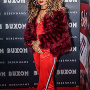 London,England,UK.12th April 2017. Ella Eyre attends the Buxom - UK launch party in London. by See Li