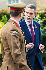 2017-11-02 New Defence Secretary Gavin Williamson in Downing Street