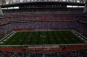 General overall view of Reliant Stadium (NRG Stadium) with the retractable roof open during an NFL football game between the Tennessee Titans and the Houston Texans, Sunday, Dec. 21, 2003, in Houston.