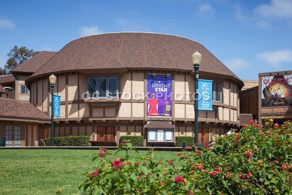 Old Globe Theater at Balboa Park San Diego