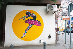 Ballerina Mural