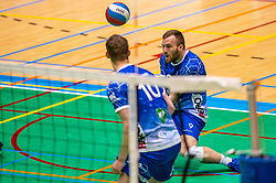 Erik van der Schaaf of Lycurgus in action during the semi cupfinal between Active Living Orion vs. Amysoft Lycurgus on April 03, 2021 in Saza Topsportshall Doetinchem