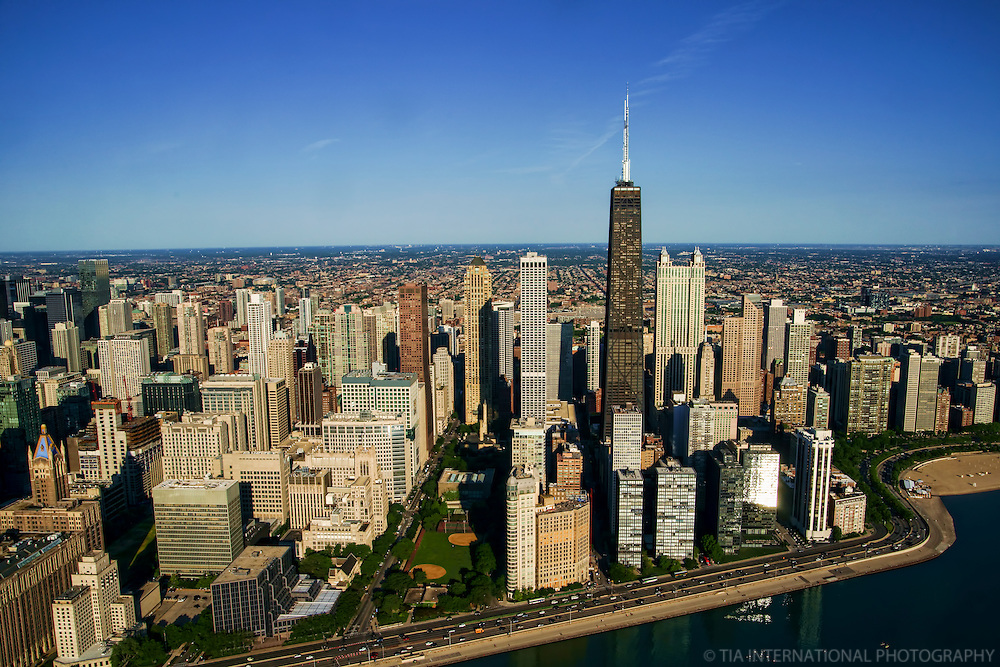 Chicago Skyline featuring John Hancock Center