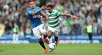 Football - 2016 / 2017 Scottish League Cup - Semi-Final - Celtic vs. Rangers<br /> <br /> Scott Sinclair of Celtic and James Tavernier of Rangers during the match at Hampden Park.<br /> <br /> COLORSPORT/LYNNE CAMERON