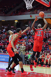 NORMAL, IL - November 13: Rey Idowu during a college basketball game between the ISU Redbirds  and the Chicago State Cougars on November 13 2018 at Redbird Arena in Normal, IL. (Photo by Alan Look)