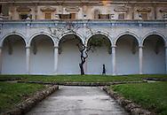 Chiostro Grande della Certosa di San Martino di Napoli.