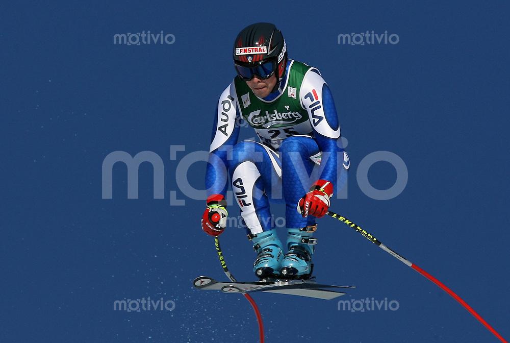 Ski Alpin; Saison 2006/2007  77. Weltcup Abfahrt Herren Peter Fill (ITA) am Hundschopfsprung