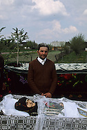 Romania.. voitinel Village. traditional burial  ceremony       / enterrement traditionnel  Voitinel  Roumanie