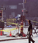 Twin Tower attack Sept. 11,2001.(Photo/© Suzi Altman)