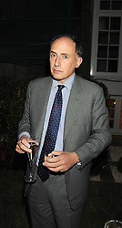 Jamie Lowther-Pinkerton, private secretary to Princes William and Harry at the Goring Hotel Summer party, Goring Hotel, 15 Beeston Place, London on 17th September 2008.