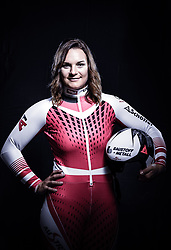12.10.2019, Olympiahalle, Innsbruck, AUT, FIS Weltcup Ski Alpin, im Bild Ramona Siebenhofer // during Outfitting of the Ski Austria Winter Collection and the official Austrian Ski Federation 2019/ 2020 Portrait Session at the Olympiahalle in Innsbruck, Austria on 2019/10/12. EXPA Pictures © 2020, PhotoCredit: EXPA/ JFK