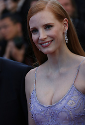 May 20, 2017 - Cannes, France - JESSICA CHASTAIN Okja Red Carpet Arrivals - The 70th Annual Cannes Film Festival.CANNES, FRANCE - MAY 19: attends the 'Okja' screening during the 70th annual Cannes Film Festival at Palais des Festivals on May 19, 2017 in Cannes (Credit Image: © Visual via ZUMA Press)