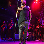 SILVER SPRING, MD - June 26, 2015 - D'Angelo performs at the Fillmore Silver Spring in Silver Spring, MD. He ended a 14-year hiatus in December 2014 by releasing his third studio album, Black Messiah. (Photo by Kyle Gustafson / For The Washington Post)