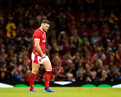 Owen Lane of Wales<br /> <br /> Photographer Simon King/Replay Images<br /> <br /> Friendly - Wales v Ireland - Saturday 31st August 2019 - Principality Stadium - Cardiff<br /> <br /> World Copyright © Replay Images . All rights reserved. info@replayimages.co.uk - http://replayimages.co.uk