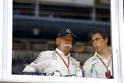 May 27, 2017 - Monte Carlo, Monaco - Motorsports: FIA Formula One World Championship 2017, Grand Prix of Monaco, .Dr. Dieter Zetsche (Chairman of the Board of Management of Daimler AG, Head of Mercedes-Benz Cars), Toto Wolff (AUT, Mercedes AMG Petronas Formula One Team) (Credit Image: © Hoch Zwei via ZUMA Wire)