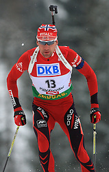 Hans Martin Gjedrem (NOR) at Men 20 km Individual at E.ON Ruhrgas IBU World Cup Biathlon in Hochfilzen (replacement Pokljuka), on December 18, 2008, in Hochfilzen, Austria. (Photo by Vid Ponikvar / Sportida)