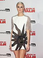 Andrea Riseborough, The Death of Stalin - World Film Premiere, Bluebird Chelsea, London UK, 17 October 2017, Photo by Brett D. Cove