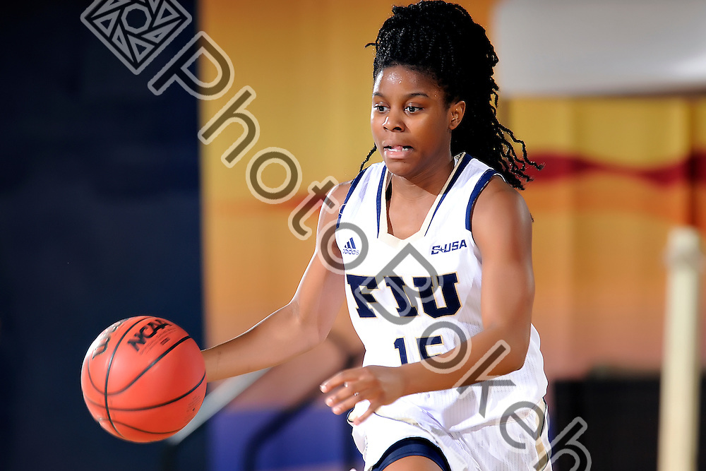 2016 January 21 - FIU's Kristian Hudson (15).  <br /> Florida International University fell to UTSA, 52-63, at FIU Arena, Miami, Florida. (Photo by: Alex J. Hernandez / photobokeh.com) This image is copyright by PhotoBokeh.com and may not be reproduced or retransmitted without express written consent of PhotoBokeh.com. ©2016 PhotoBokeh.com - All Rights Reserved