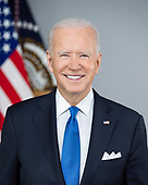 April 09, 2021 - DC: President Biden's Official White House Portrait