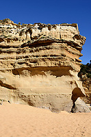 Cliff face at the 12 Apostles on the great Ocean Road, Australia