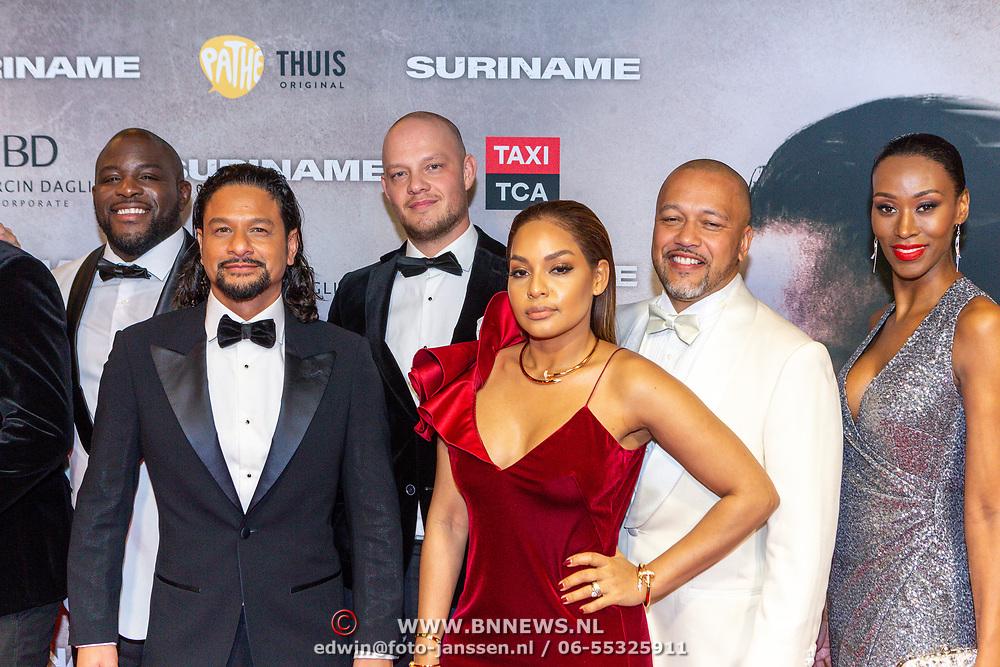 NLD/Amsterdam/20200217-Suriname filmpremiere, cast op de loper