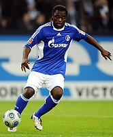 Fotball<br /> Tyskland<br /> Foto: Witters/Digitalsport<br /> NORWAY ONLY<br /> <br /> 25.10.2009<br /> <br /> Gerald Asamoah<br /> Fussball FC Schalke 04