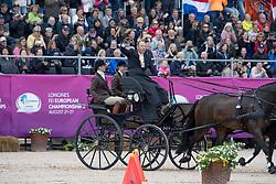 Chardon IJsbrand, NED, Baldun, Eddy, Senator, Winston E, Zion<br /> FEI European Driving Championships - Goteborg 2017 <br /> © Hippo Foto - Dirk Caremans