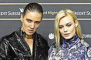 Tamy Glauser und Dominique Rinderknecht (re.) anlässlich des Zürcher Film Festivals 2019.
