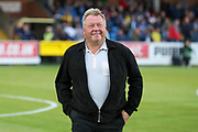 AFC Wimbledon manager Wally Downes walking onto pitch during the Pre-Season Friendly match between AFC Wimbledon and Crystal Palace at the Cherry Red Records Stadium, Kingston, England on 30 July 2019.